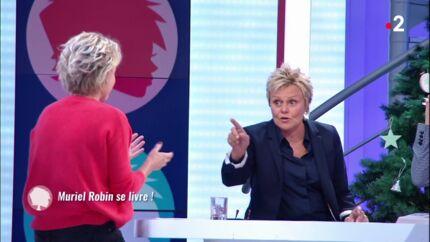 VIDEO Muriel Robin: agacée par l'attitude de Sophie Davant, elle la recadre brusquement