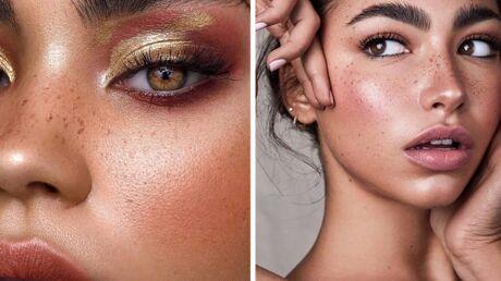 Make-up – elles craquent toutes pour les fausses tâches de rousseur