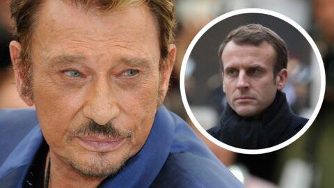 Hommage à Johnny Hallyday: cet ultime caprice qu'Emmanuel Macron a refusé à Laeticia
