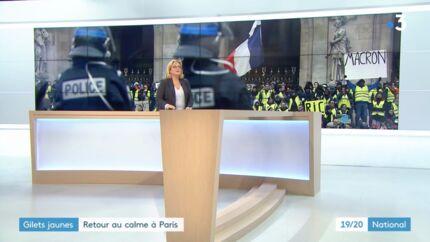 VIDEO Emmanuel Macron: une pancarte contre le Président retouchée par France 3, les internautes s'insurgent