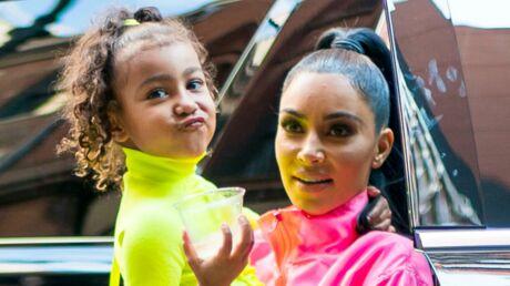 PHOTO Kim Kardashian partage un rare cliché d'elle enfant, sa fille North est son sosie!