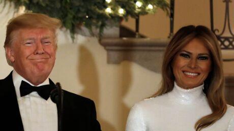 PHOTO Donald Trump et Melania photoshopés sur leur carte de Noël? La polémique enfle