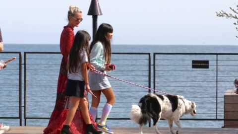 PHOTO Laeticia Hallyday: après son échec en justice, elle s'envole avec Jade et Joy vers une destination lointaine