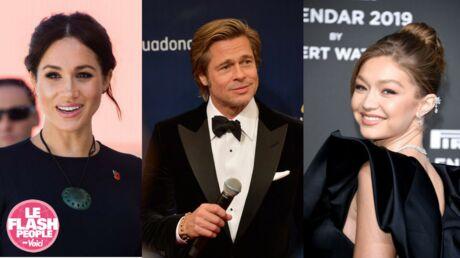 Podcast audio: Miss France 2019 très gâtée, Brad Pitt repoussé par une actrice… Le Flash People du jour