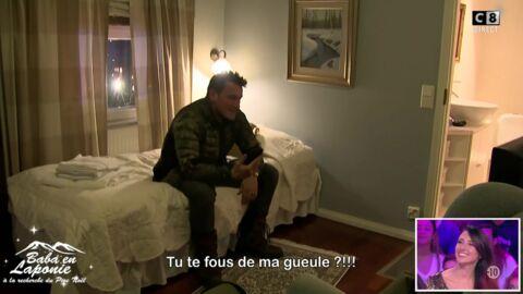 VIDEO Benjamin Castaldi annonce à sa femme qu'il dort avec Delphine Wespiser et se fait massacrer