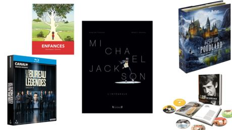 35 idées cadeaux à piocher dans notre sélection de coffrets DVD, beaux livres, BD