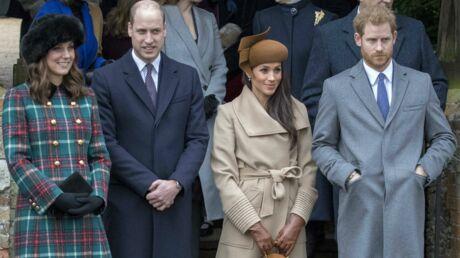Famille royale: une Britannique photographie Meghan, Harry, Kate et William et touche le pactole