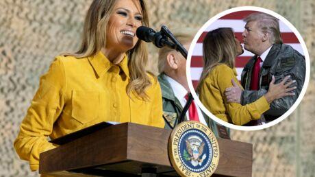 PHOTOS Melania Trump: son étrange baiser échangé avec Donald Trump ulcère les spécialistes