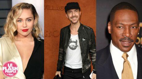 Podcast audio: Les caprices de Calogero, la robe de mariée de Miley Cyrus… Le Flash People du jour