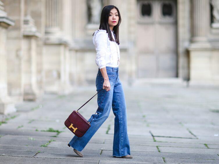 20397d0104bb Comment porter le jean flare  - Voici