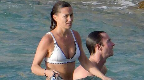 PHOTOS Pippa Middleton en bikini, la jeune maman affiche déjà une silhouette parfaite