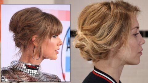VIDEO Coiffure – comment réaliser le chignon décoiffé de Taylor Swift en 5 minutes