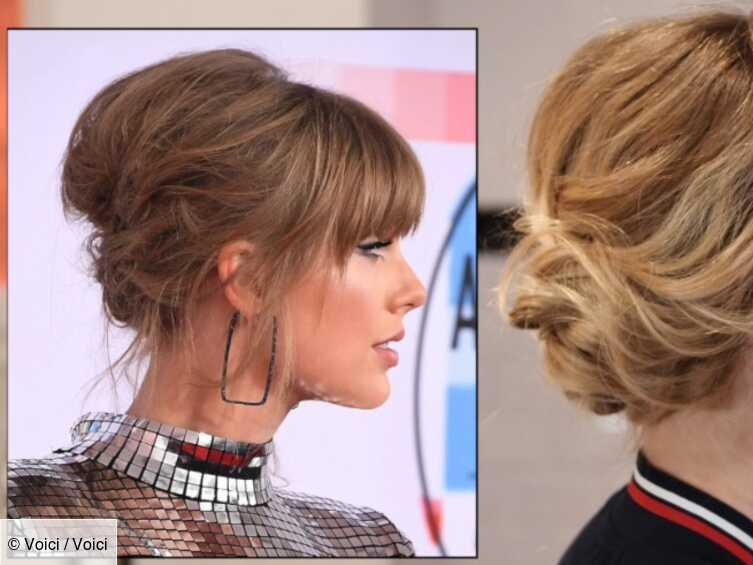 Video Coiffure Comment Realiser Le Chignon Decoiffe De Taylor Swift En 5 Minutes Voici