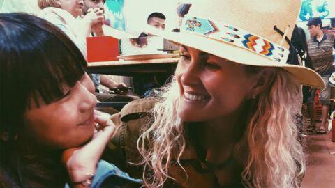 PHOTO Jade Hallyday bouleversée par son voyage au Vietnam, elle remercie sa maman Laeticia