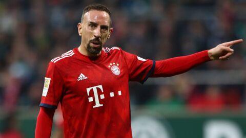 Franck Ribéry: son club lui inflige «une lourde amende» après sa violente réponse