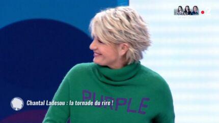 VIDEO Sophie Davant: mal à l'aise après une anecdote de Chantal Ladesou avec Gérard Depardieu