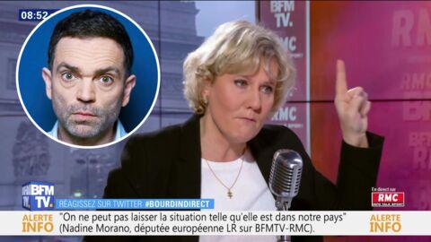 VIDEO Yann Moix et les femmes de 50 ans: Nadine Morano l'accuse d'avoir voulu créer le buzz et le détruit