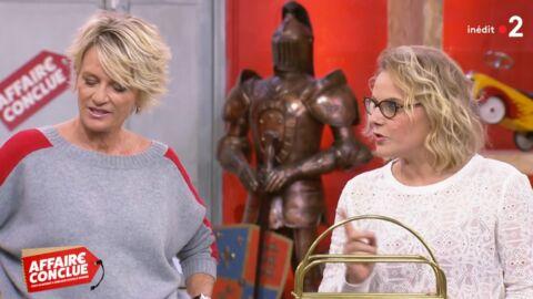 VIDEO Affaire conclue: Sophie Davant se moque du pantalon d'une candidate, qu'elle «déteste»