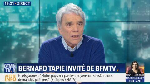VIDEO Bernard Tapie dévoile le SMS le plus touchant qu'il a reçu à l'annonce de sa maladie