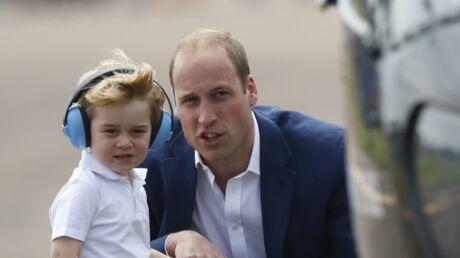 Prince William: pourquoi il va devoir arrêter de voyager avec son fils George