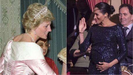 PHOTOS Meghan Markle très enceinte: son nouveau clin d'œil à Lady Diana