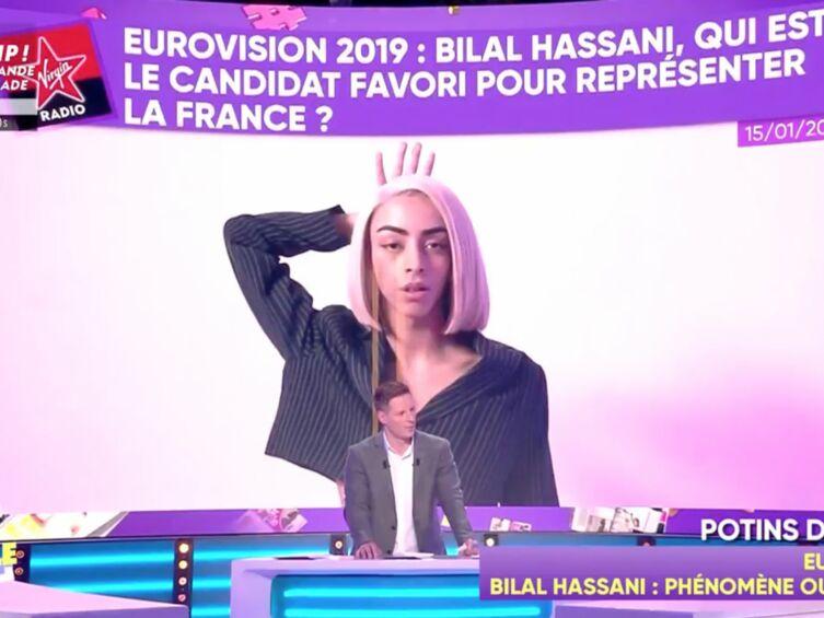 VIDEO Bilal Hassani sévèrement critiqué pour sa qualification en finale de Destination Eurovision