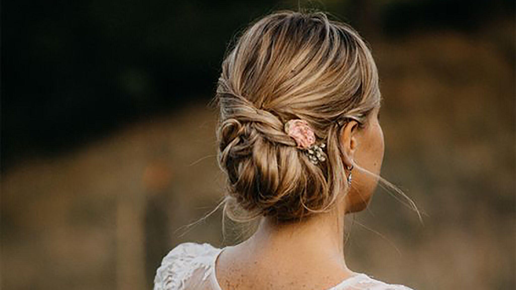 Mariage Les Plus Belles Coiffures Reperees Sur Pinterest Voici