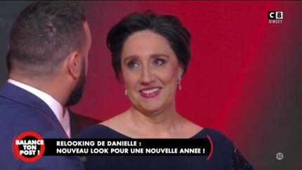 VIDEO Danielle Moreau relookée dans TPMP: découvrez sa réaction hilarante
