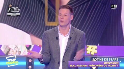 VIDEO Bilal Hassani (Destination Eurovision): des poursuites engagées contre TPMP People après les propos des chroniqueurs sur le candidat