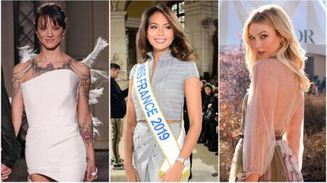 PHOTOS Fashion week: Karlie Kloss dévoile ses fesses, Asia Argento frôle l'accident de culotte
