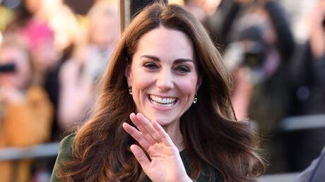 PHOTOS Kate Middleton: sublime dans sa robe verte, elle met tout le monde d'accord
