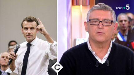 VIDEO Michel Onfray détruit Emmanuel Macron dans son livre ET sur le plateau de C à vous