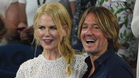 PHOTOS Nicole Kidman et son mari Keith Urban, complices et TRÈS amoureux à l'Open d'Australie