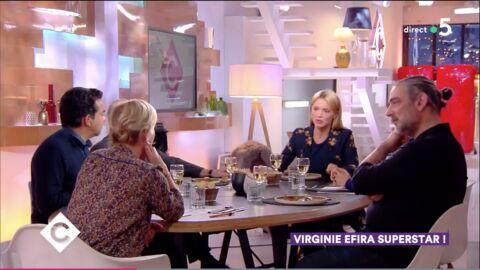 VIDEO La bourde d'Anne-Elisabeth Lemoine sur la nouvelle nationalité de Virginie Efira