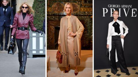 PHOTOS Céline Dion – ses looks les plus stylés lors de la fashion week