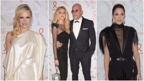 PHOTOS Pamela Anderson sublime, Iris Mittenaere décolletée, Pascal Obispo très amoureux au dîner du Sidaction