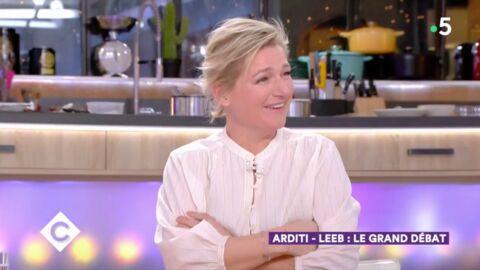 VIDEO Anne-Elisabeth Lemoine: l'accueil osé qu'elle a réservé à Pierre Arditi
