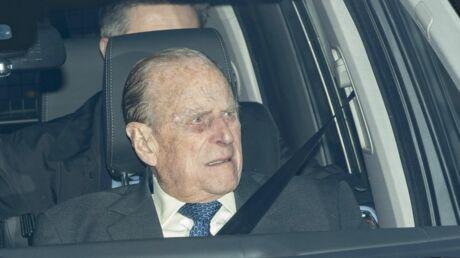 Le Prince Philip révèle une lettre d'excuses après son implication dans un accident de voiture