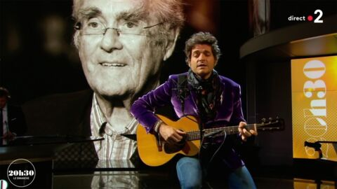 VIDEO Matthieu Chedid: son vibrant hommage à Michel Legrand sur le plateau de 20h30 le dimanche