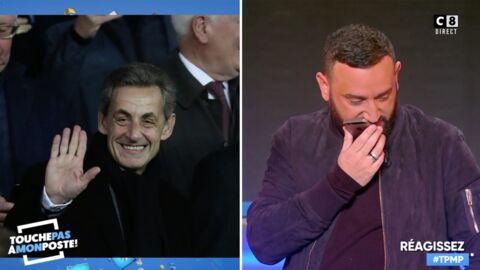 VIDEO Cyril Hanouna se fait rembarrer par Nicolas Sarkozy alors qu'il lui souhaite son anniversaire