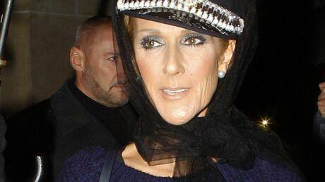 PHOTOS Céline Dion voilée et en robe pull, sa tenue HALLUCINANTE pour quitter Paris avec panache
