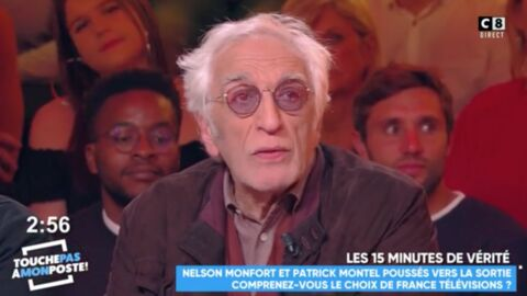 VIDEO Gérard Darmon rembarre Cyril Hanouna en direct dans TPMP