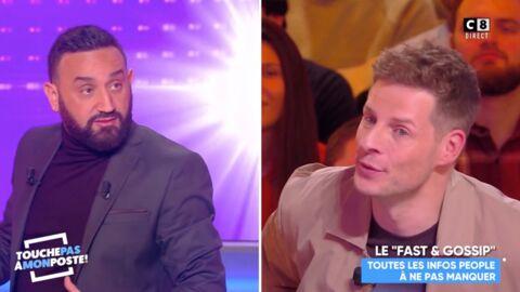 VIDEO Cyril Hanouna très étonné par la proposition de Matthieu Delormeau pour la Saint-Valentin