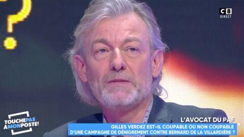 VIDEO Gilles Verdez très affecté, il explique pourquoi il continuera à critiquer Bernard de la Villardière