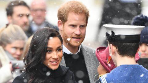 PHOTOS Meghan Markle et le prince Harry très attendris par de jeunes fans