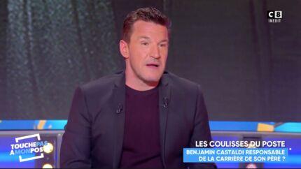 VIDEO Benjamin Castaldi: son aveu touchant sur la chute de la carrière de son père Jean-Pierre