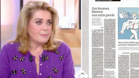 VIDEO Catherine Deneuve revient sur sa tribune polémique: «On ne peut plus dire quoi que ce soit sur les femmes»
