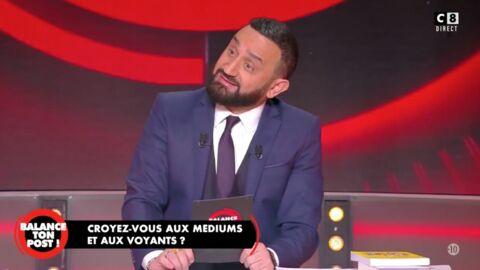 VIDEO Balance ton post: Cyril Hanouna choqué par une voyante au don très particulier