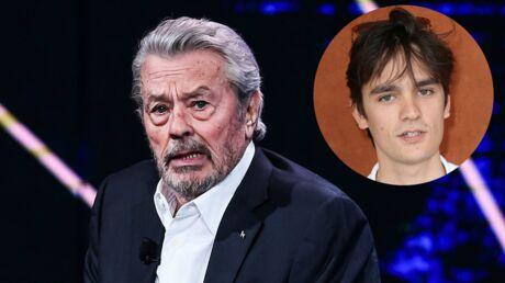 La réaction sans appel d'Alain Delon au livre très agressif de son fils, Alain-Fabien