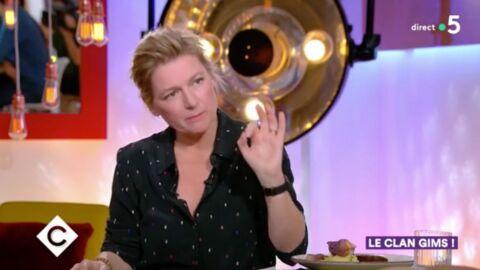 Anne-Elisabeth Lemoine: pourquoi l'animatrice ne mange jamais rien pendant le dîner de C à vous?
